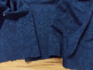 Wool-nylon knit