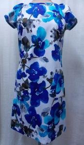 Blue Simplicity dress
